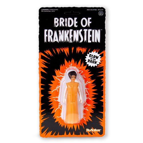 Universal Monsters Bride of Frankenstein Glow in the Dark ReAction Figure - NYCC 2019 Exclusive