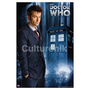 Doctor Who David Tennant Tenth Doctor Standard Poster