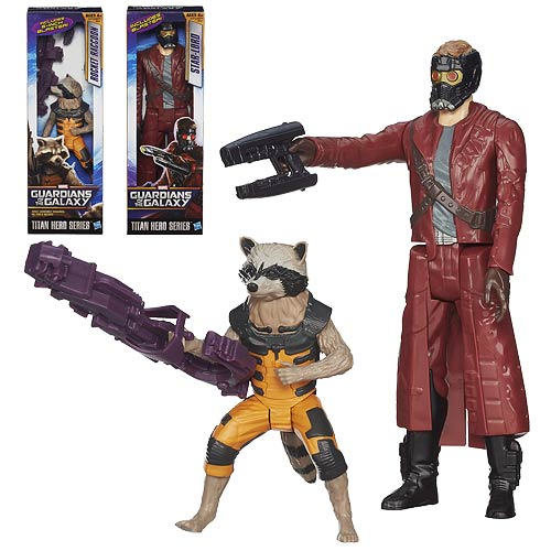 Guardians of the Galaxy Titan Hero 12-Inch Figure Wave 1 Set