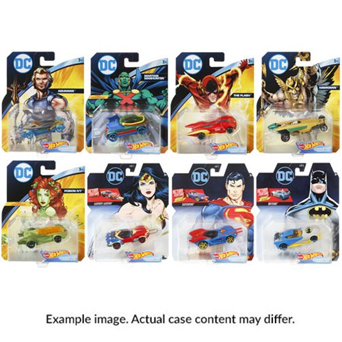 DC Universe Hot Wheels 1:64 Scale 2019 Wave 2 Case
