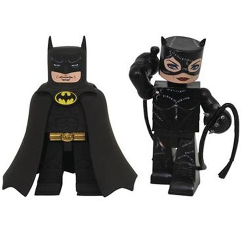 DC Batman Returns Movie Classic Batman and Catwoman Vinimate Vinyl Figure 2-Pack