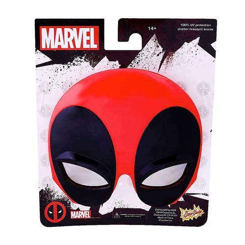 Deadpool Mask Sun-Staches