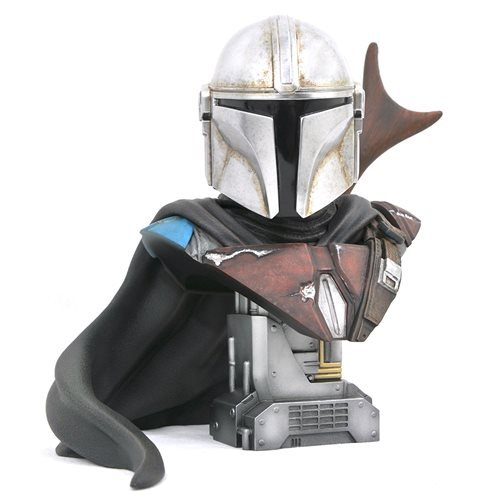 Star Wars Legends in 3D Mandalorian 1:2 Scale Bust