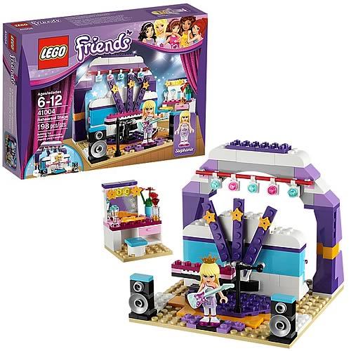 LEGO Friends 41004 Rehearsal Stage - Entertainment Earth