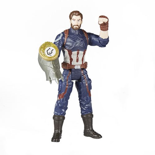 Avengers: Infinity War Captain America with Infinity Stone 6-Inch Action Figure