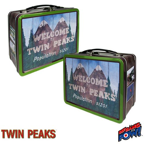 Twin Peaks Welcome to Twin Peaks Tin Tote