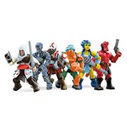 Mega Construx MCX Heroes Mini-Figure Series 4 Display Box