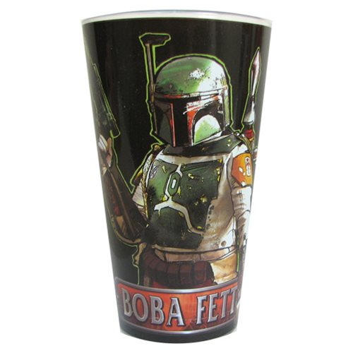 Star Wars Boba Fett with Name 16 oz. Pint Glass