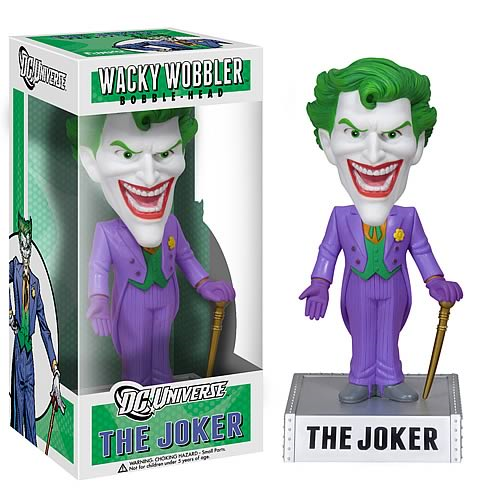 DC Universe Batman Joker Bobble Head