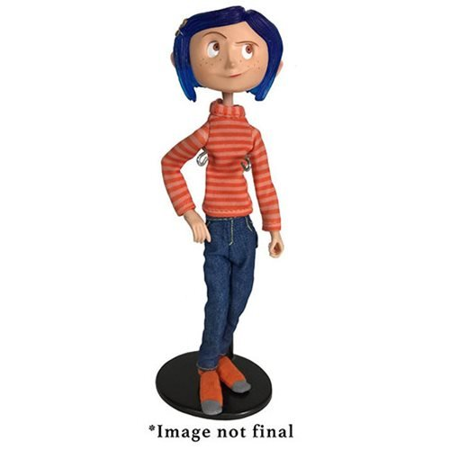 Coraline in Striped Shirt Articulated Action Figure