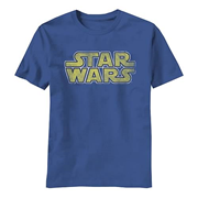 Star Wars Yellow Logo T-Shirt