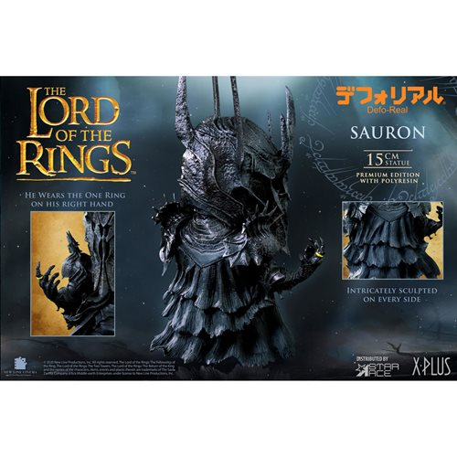 Lord of the Rings Sauron Defo Real Polyresin Statue