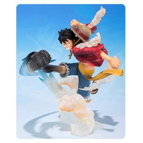 One Piece Monkey D. Luffy Gum Gum Hawk Whip Version Figuarts ZERO Statue