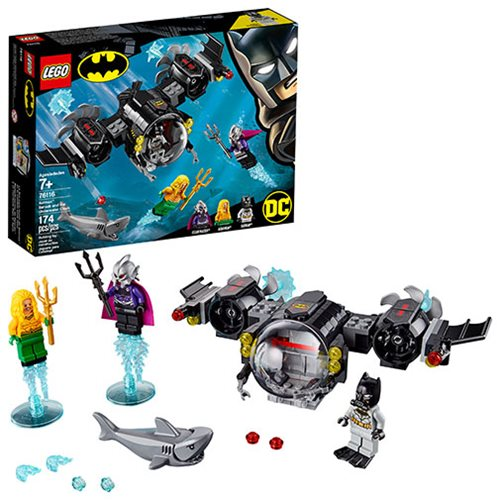 LEGO 76116 DC Comics Super Heroes Batman Batsub and the Underwater Clash