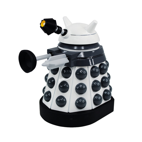 Doctor Who Titans White Supreme Paradigm Dalek Vinyl Figure