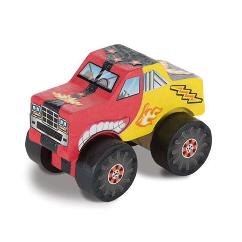Melissa & Doug Created by Me! Monster Truck Wooden Craft Kit