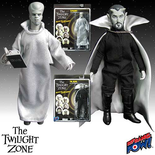 The Twilight Zone Kanamit and The Devil Action Figures