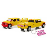 Kill Bill 1997 Chevrolet C-2500 Crew Cab Silverado Pussy Wagon 1:18 Scale Artisan Collection Die-Cast Metal Vehicle