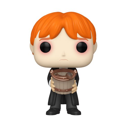 Harry Potter Ron Puking Slugs with Bucket Pop! Vinyl Figure