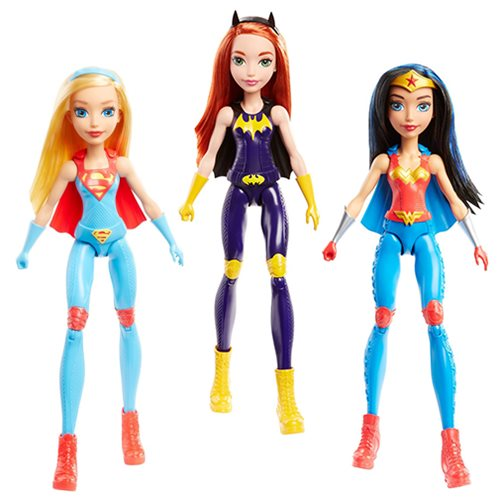 DC Super Hero Girls Training Action Doll Case