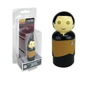 Star Trek: The Next Generation Data Pin Mate Wooden Figure