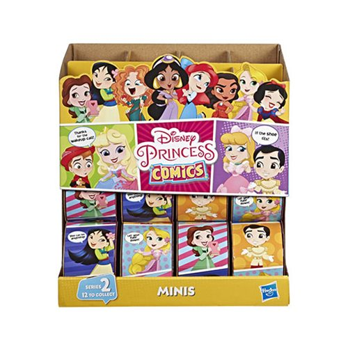 Disney Princess Comics Mini-Figures Series 2 - Set of 6