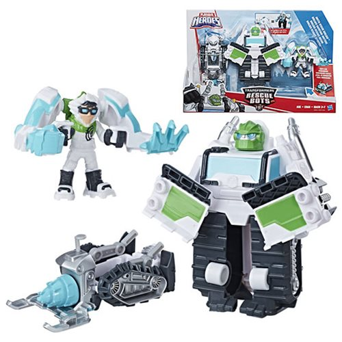 Transformers Rescue Bots Arctic Rescue Boulder Team
