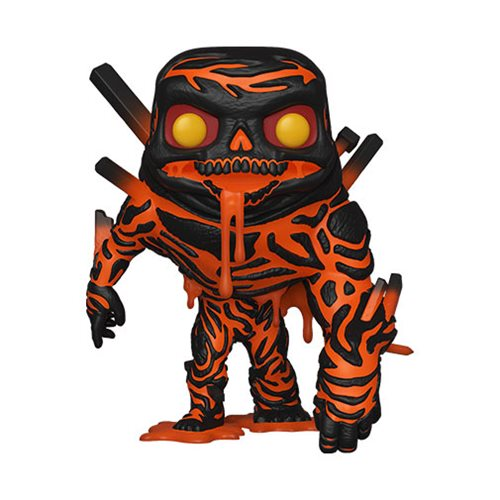 Funko POP Spider Far from Home Molten Man Collectable Figure