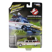 Ghostbusters Silver Screen Machine Ecto-1A 1:64 Scale Die-Cast Metal Vehicle
