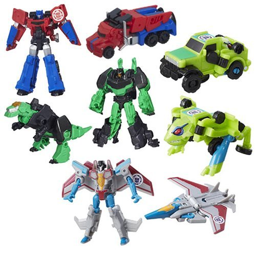 Transformers Robots in Disguise Legion Wave 8 Set