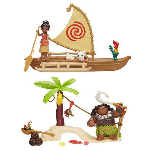 Moana Small Action Figure Playsets Wave 1