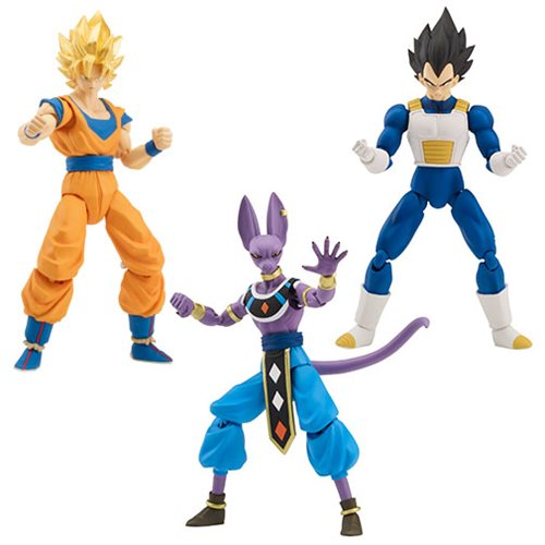 Dragon Ball Stars Action Figure Wave 1 Set