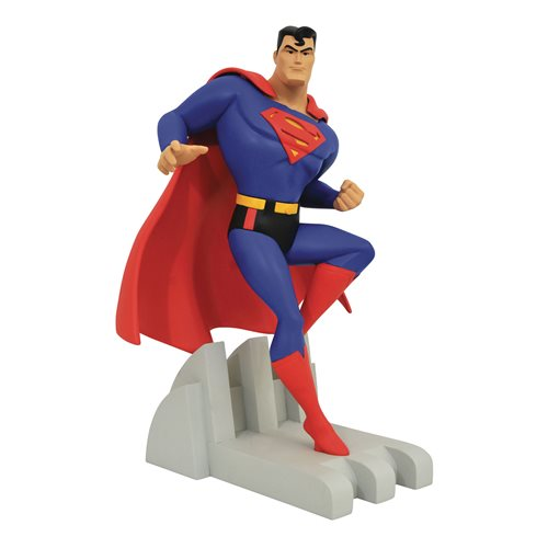 DC Premier Collection Animated Series Superman Statue