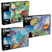 K'NEX Amusement Park Series #4 Building Set 3-Pack