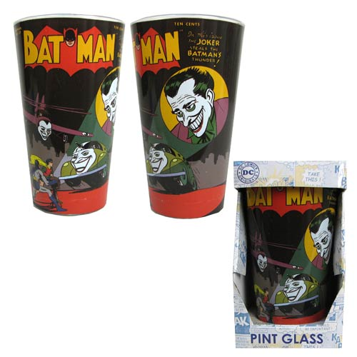 Batman No. 37 Comic Cover 16 oz. Pint Glass