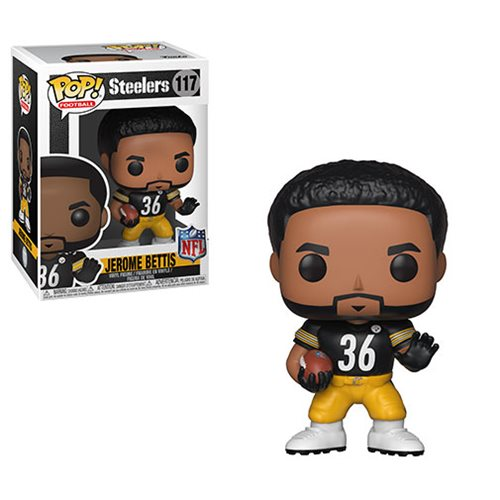 NFL Legends Jerome Bettis Pop! Vinyl Figure #117