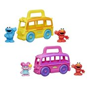 Sesame Street Friends on the Go Vehicles and Figures Wave 1 Set