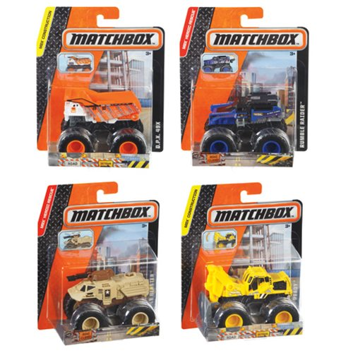 Matchbox 1:64 Scale Truck Vehicle Case