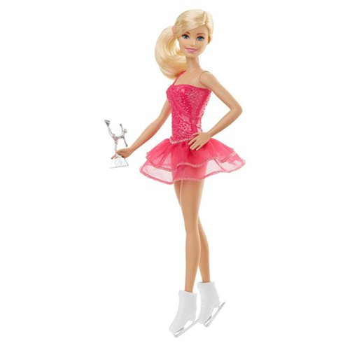 Barbie Careers Ice Skater Doll, Not Mint