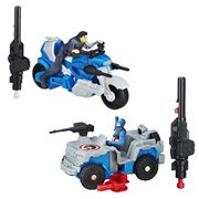 Captain America Civil War 2 1/2-Inch Combat Racer Wave 1 Set
