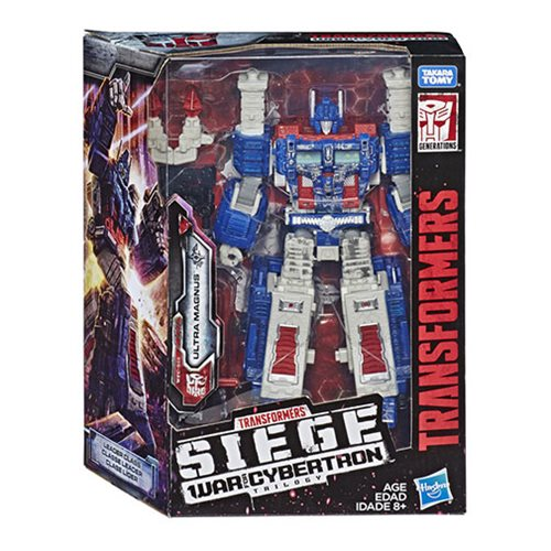 Transformers Generations War for Cybertron Trilogy Siege Leader Wave 1 Case