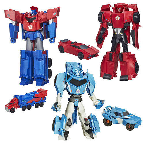 Transformers Robots in Disguise Hyper Change Heroes Wave 4