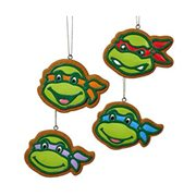 TMNT Gingerbread Ornament Set