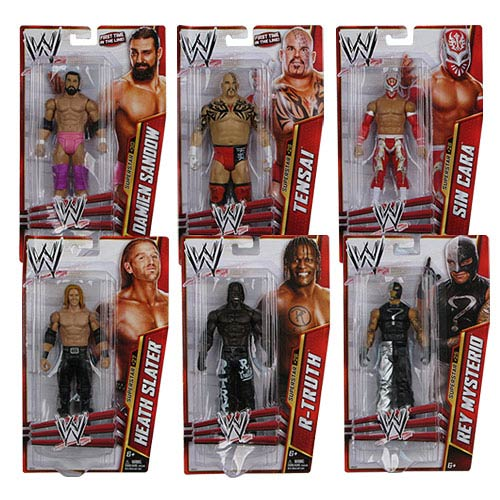 WWE Basic Figure Series 28 Action Figure Case