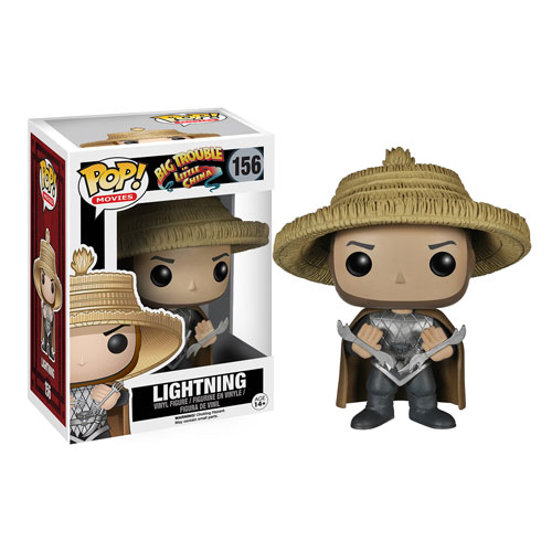 Big Trouble in Little China Lightning Pop! Vinyl Figure, Not Mint