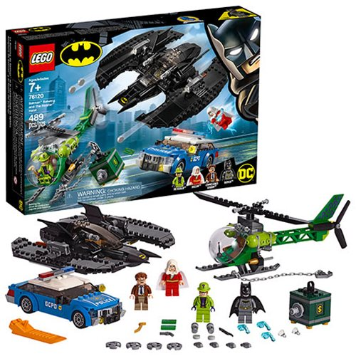 LEGO 76120 DC Comics Super Heroes Batman Batwing and The Riddler Heist