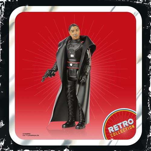 Star Wars The Retro Collection Moff Gideon 3 3/4-Inch Action Figure