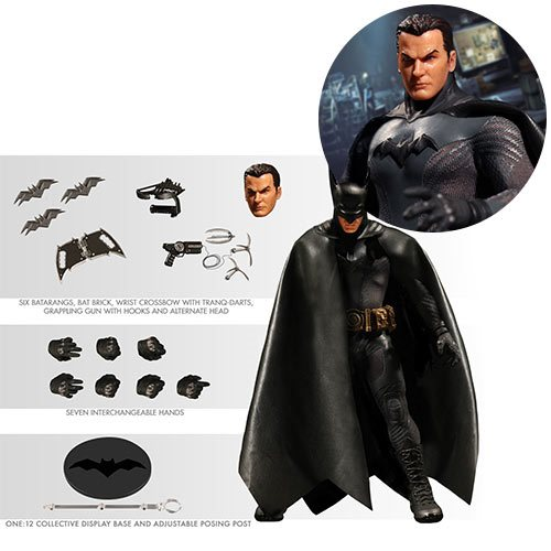 Batman Ascending Knight One:12 Collective Action Figure - Gray Suit