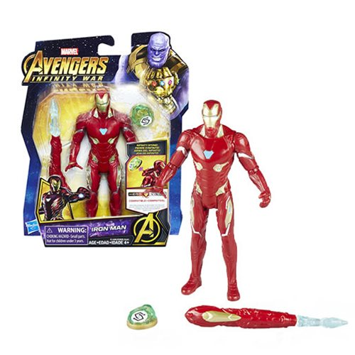 Avengers: Infinity War Iron Man with Infinity Stone  6-Inch Action Figure