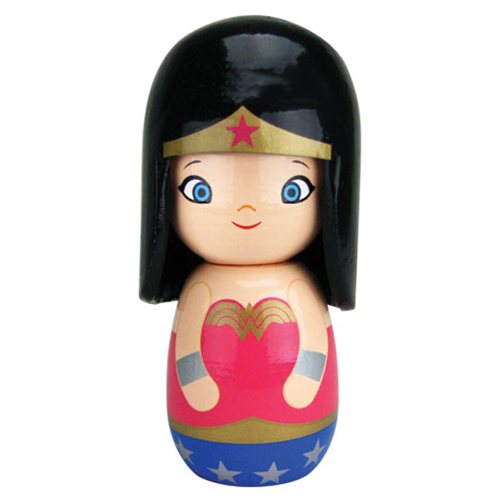 Wonder Woman Metallic Wittles Wooden Doll - Convention Exclusive